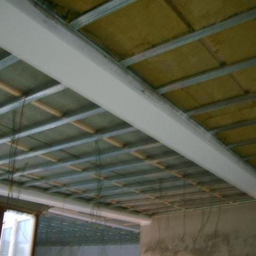 Droogbouw Descheemaeker - Realisaties - Werf Karmeliet Brugge - Accoustische plafond
